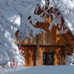 Habitación completamente nevada / Room under the snow / Sala sob a neve